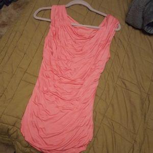 Maurice pink shirt